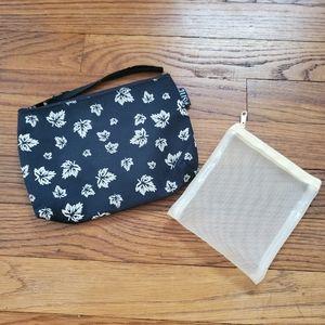Lot of 2 Cosmetic bags Twoj styl maple lea…